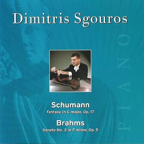 Buy from Amazon - Sgouros plays Schumann & Brahms