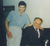 Sgouros with Lorin Maazel